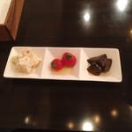 ATSUMI食堂 - 前菜3点盛り