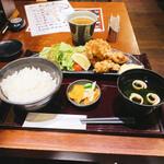 うなぎ 串焼きと九州料理 芋蔵 - 大分中津唐揚げ定食