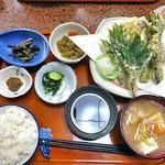 多菜田 - 多菜田定食 天ぷら