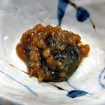多菜田 - 「多菜田定食 天ぷら」の副菜(神楽南蛮味噌)