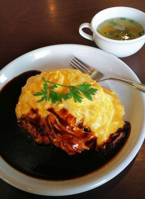 オオサカヤ 今町レストラン - 本日のオムライス