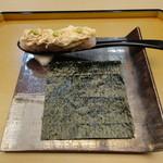 しち十二候 - 湯葉の手巻き寿司