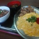 かしわの武内 - 料理写真:ナポリタンセット(普)