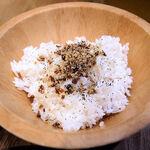 太陽のトマト麺Next - リゾット用のご飯(大)