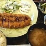 喜代○ - とんかつ定食