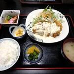 和彩ふじ野 - 料理写真:チキン南蛮定食¥1,100
