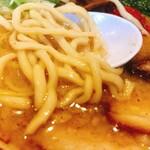 中華そば専門 田中そば店 - 麺ぷりぷり