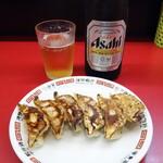 133514463 - 餃子&ビール
