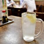 遠州屋 - レモンサワー@450円