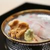 道人 - 料理写真:2020年7月再訪:アコウ うに☆
