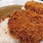 とんかつ 赤坂 水野 - 料理写真:メンチカツカレー(メンチ二個)