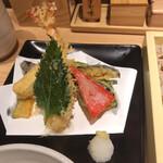 蕎麦きり みよた - 天ぷら