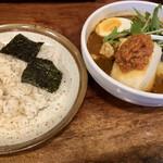 133522585 - 月替りランチ豆腐のスープカレー 2020.06