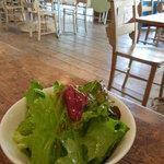 マルクトカフェ - ランチセット:サラダ