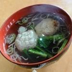 13353984 - いわしのつみれ汁150円 (青倉の総菜)