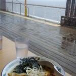 波市 - あさりの塩ラーメン(880円)