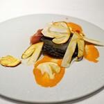 Convivio - 黒鮑とタマゴ茸