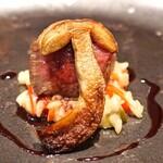 Convivio - 牛肉のロースト ポルチーニ添え