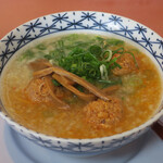 御麺 麦 - 料理写真:麦(ばく)らーめん860円