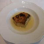 133541945 - 萩産甘鯛の炭火焼 ジュのスープ