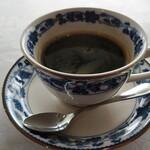 ぶどうの丘 展望ワインレストラン - コーヒーでホット一息