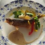 ぶどうの丘 展望ワインレストラン - 本日のお魚料理2,250円(税抜)