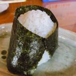 鴨鶴 - ♦︎しらすおにぎり ¥170