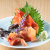 すし おお助 - 料理写真:貝の刺身盛り合わせ