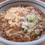 吉そば - たぬき蕎麦(大盛り)