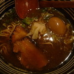 ひかり製麺堂 - 味玉醤油ラーメン