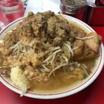 自家製太麺 ドカ盛 マッチョ -