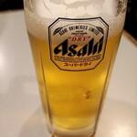 ニサシ - ビールはドライでした