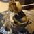 沼津魚がし鮨 流れ鮨 - 料理写真:ワタは爪楊枝で何とかしました。