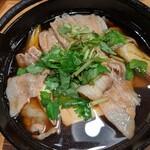大衆割烹TAKEYA - 川越豚の肉豆腐