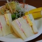 レ・ボ・プロヴァンス - 料理写真:モーニング(サンドイッチ)