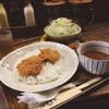 本気豚食 - 料理写真:レディースカツカレーセット