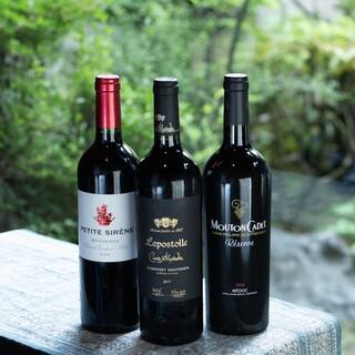 黒毛和牛×厳選ワインのペアリングをご堪能ください