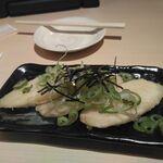 水炊き・焼鳥・鶏餃子 とりいちず - 山芋の磯揚げ280円
