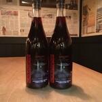イタリアワインと豚肉バル BUTA MA MILLE - 超限定入荷。火山性土壌感満載のナチュラルワイン。