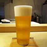 もと井 - 生ビール キリン一番搾り 700円。     2020.07.18