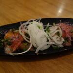 あさり食堂 - 鮮魚のカルパッチョ