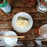 TOKYO OLDBOYS BREWING - 焼き鯖ポテサラ