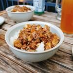 TOKYO OLDBOYS BREWING - 台湾ルーロー飯