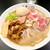 王者-23 - 料理写真:特製蕎麦(トッピング盛りチャーシュー)