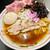 王者-23 - 料理写真:肉煮干蕎麦 トッピング(盛りチャーシュー、玉ねぎ、岩海苔、生海苔)