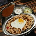 ターリー屋 - チキンケバブキーマライス定食