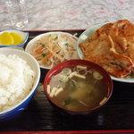 七福食堂 - しょうが焼き定食 1,050円