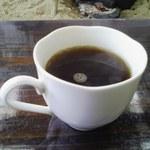 浜の駅ふらっと - カレーに付いてきたコーヒー