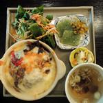 13360880 - 奥多摩野菜の焼チーズカレー
