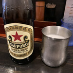 らぁ麺 きくはん - ■サッポロラガー赤星¥500
